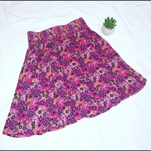 Nordstrom Floral Skirt